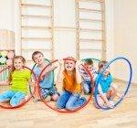 Övningar vid barngymnastik
