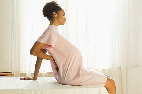 gravid ryggont högt upp