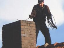 Sotare på ett tak