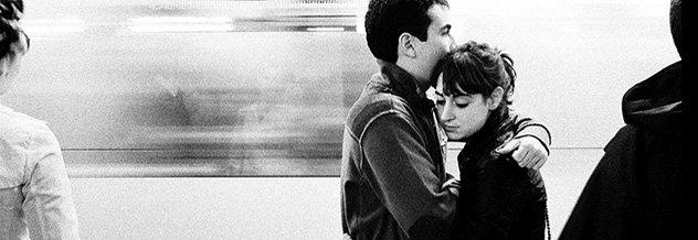 foto 1- Benurs kärlek på tunnelbanan