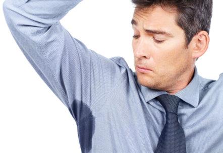 problem med armsvett