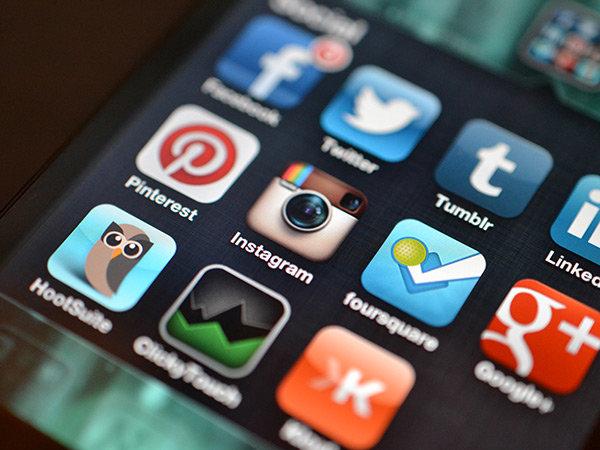 Instagram på mobilen