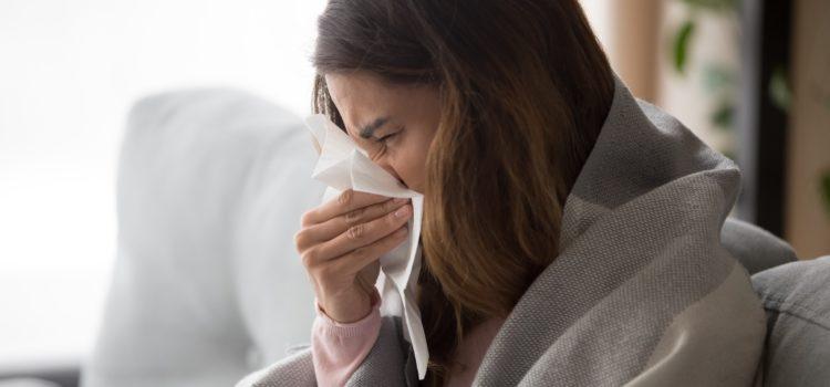 coronavirus, influensa eller förkylning