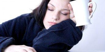 trött av stress