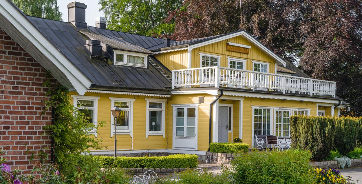 Bild på behandlingshemmet Finjagården.