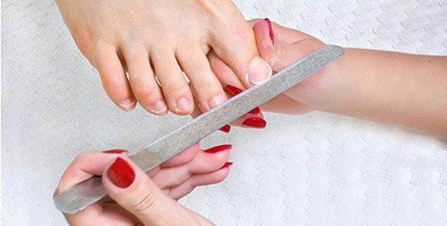 behandla nageltrång hemme