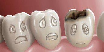 Satt som kan lindra tandvark