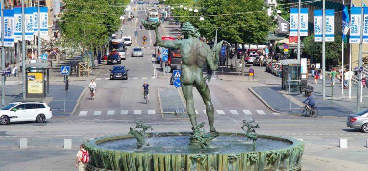 Poseidon fontän Göteborg