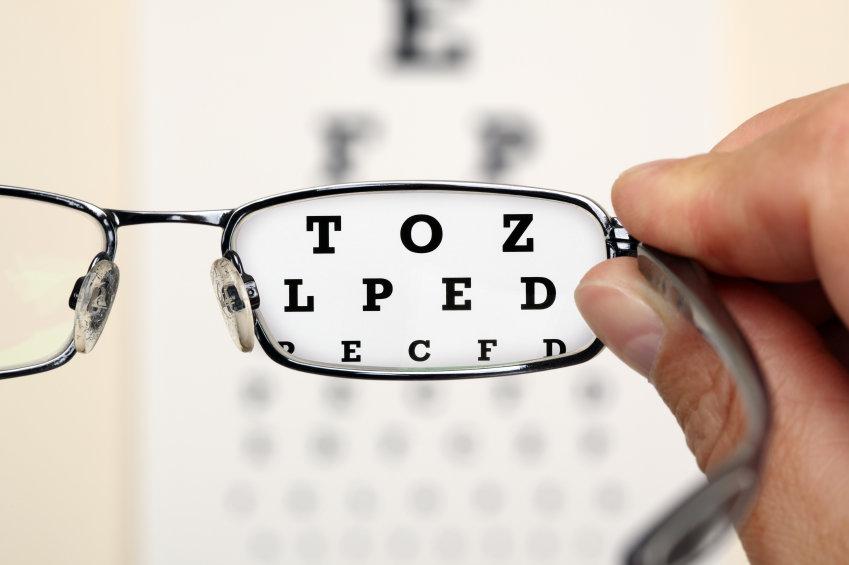 fel styrka på glasögon symptom