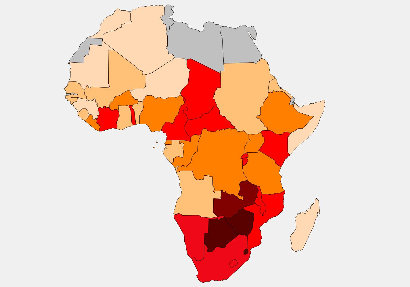 Aids ökar bland unga i Afrika