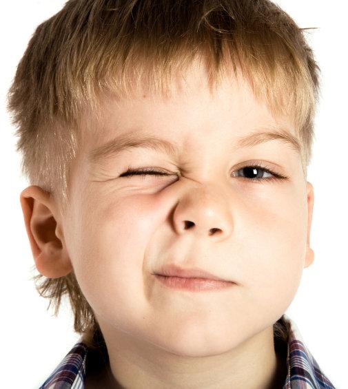 ryckningar i näsan