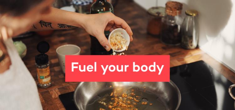 Lär dig om nutrition från personer som gått igenom cancer.