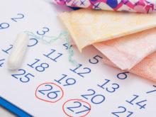 Kalender som räknar ut en menscykel och när ägglossning sker.