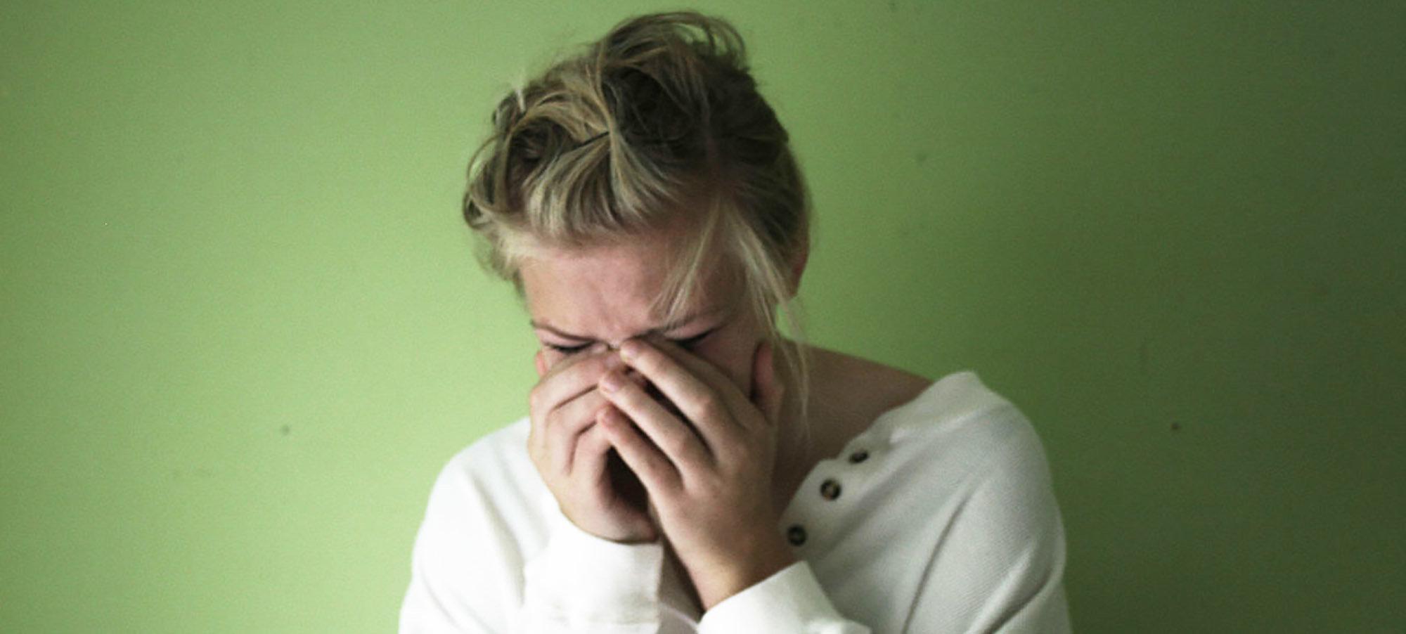 har mensvärk utan mens