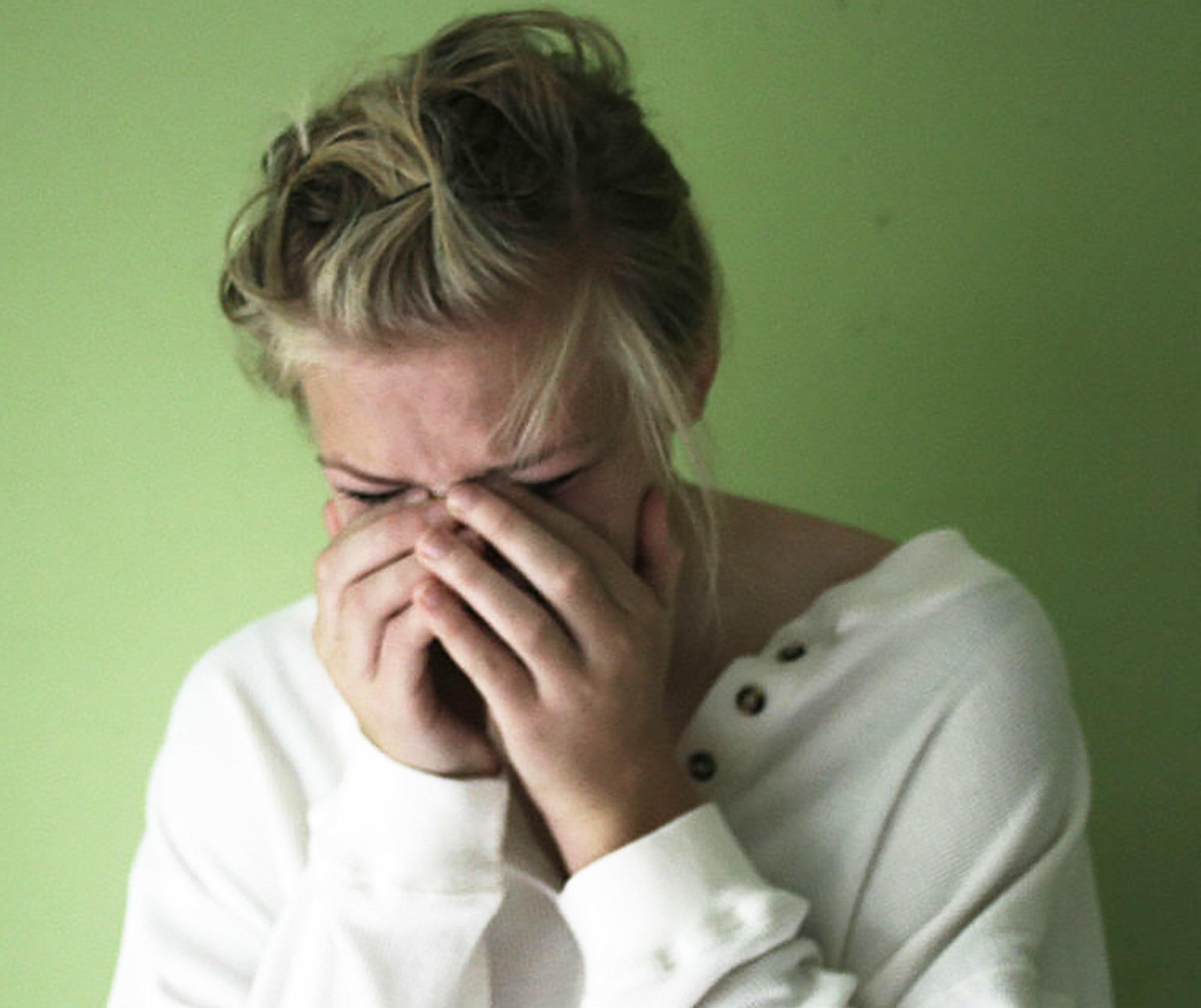 vad beror mensvärk på