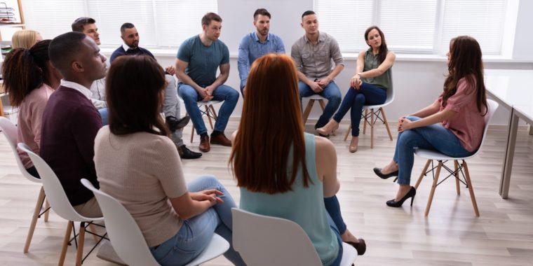 Gruppterapi för missbrukare