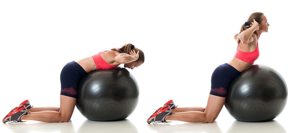 övningar som stärker ryggen