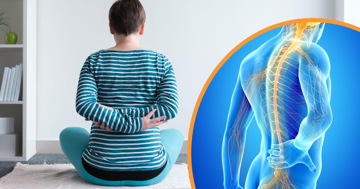 nervskada i ryggen