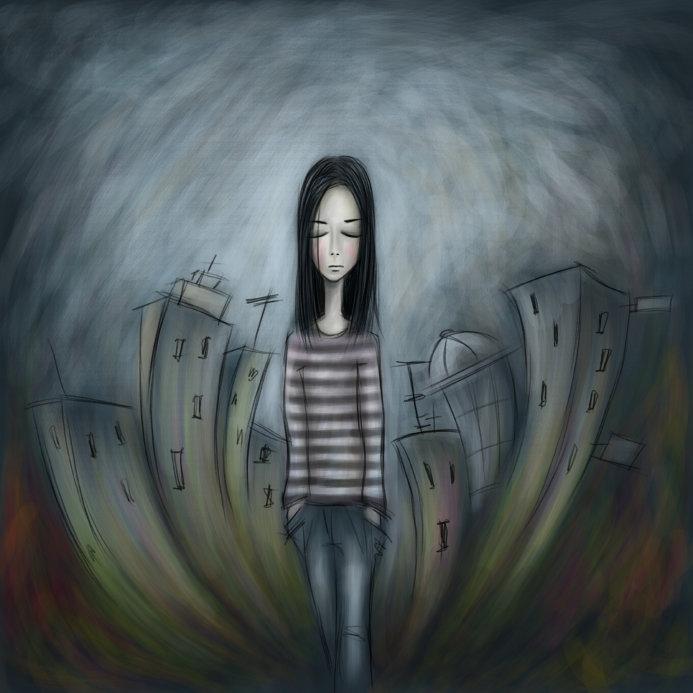 ångest oro illamående