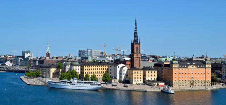 Vy över Stockholm stad