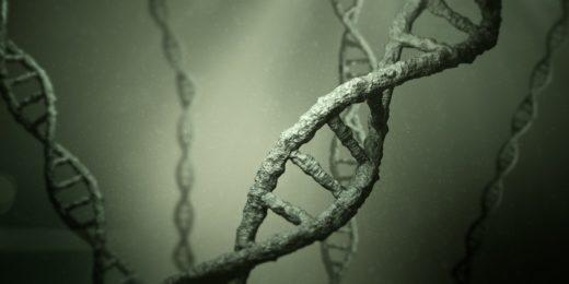 3D-bild av en DNA-molekyl