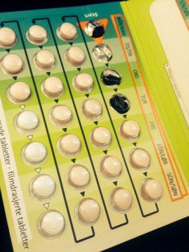 p-piller mot vuxenakne