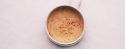 En kopp espresso.