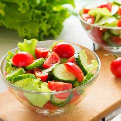 skölj din sallad för att minska risken för salmonella och ehec