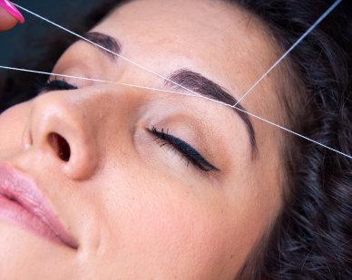 hårborttagning tråd