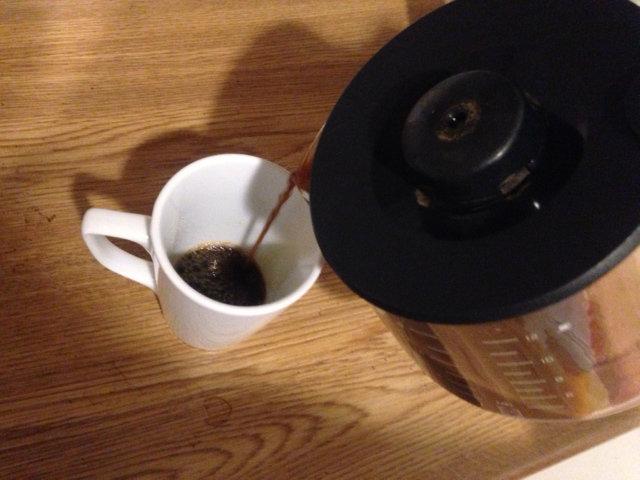 Fyra koppar kaffe om dagen ingen hälsorisk