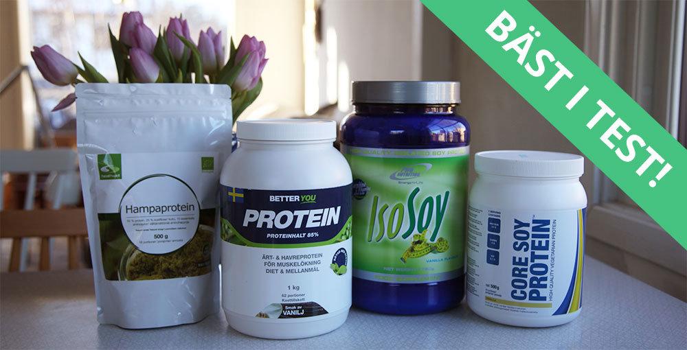 hur mycket proteinpulver per dag